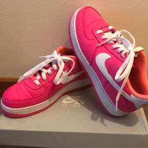 Pink Air Force Ones